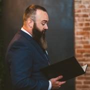 Wedding officiant Chris Wade
